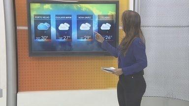 Confira a previsão do tempo para esta segunda-feira (5) - Veja como será o tempo em Rondônia.