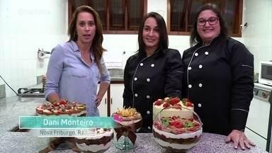 Irmãs driblam a crise com fabricação de bolos em casa - Ione e Selma apostaram no talento culinário das duas e estão conseguindo fazer o negócio crescer em apenas um ano de trabalho