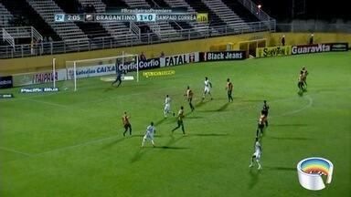 Bragantino vence o Sampaio Corrêa pela série B - Time consegue escapar da zona da degola.