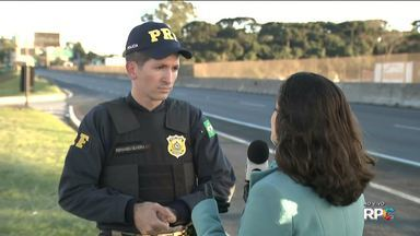 Polícia Rodoviária Federal faz Operação Independência 2016 - Até agora, não foram registradas mortes nas estradas do Paraná.