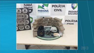 Homem suspeito de vender drogas para traficantes é preso em Curitiba - Welinson Fernando Lima de Morais, de 27 anos, foi preso na casa dele na Cidade Industrial. Ele é suspeito de vender drogas para traficantes do Paraná, Santa Catarina e Rio Grande do Sul.