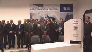 TSE conclui programas de computador que vão controlar as urnas nas Eleições 2016 - Cerimônia é uma exigência da legislação eleitoral.