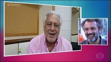Montagner recebe elogio de Fagundes: 'Derrubando o coração das mulheres brasileiras' - Ator tomou café da manhã com Ana Maria Braga no 'Mais Você'