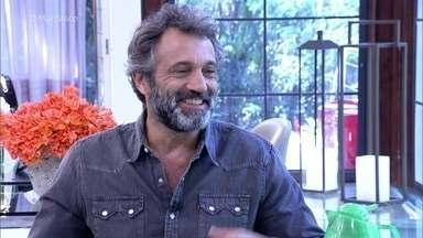 Domingos Montagner fala como é a gravação do 'Velho Chico' - Confira a entrevista!