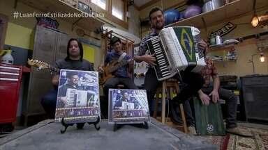 Luan e Forró estilizado cantam 'Por Quê?' - A banda anima a manhã no 'É de Casa'