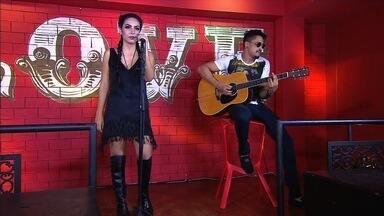 Déborah Victória disputa a 2ª semifinal do concurso 'Novos Talentos da Música Sertaneja' - Votação começou neste sábado (10).