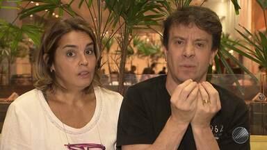 Atores de `Até que o Casamento nos Separe` falam sobre o espetáculo - Peça está em cartaz no Teatro Isba, em Salvador.