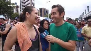 Acompanhe os bastidores do 'Bem Estar Global' em Manaus - Programa foi apresentado ao vivo direto da Ponta Negra .Evento ofereceu atendimentos em diversas áreas e teve a chuva como protagonista.