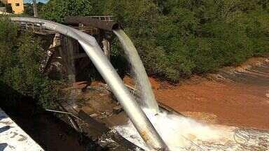 Obra de construção de adutora começa na segunda-feira - Começa nesta segunda-feira (12), a obra de construção da nova ponte na BR-101, entre Laranjeiras e Maruim. A ponte sustentava a adutora do Rio São Francisco e caiu em maio do ano passado.