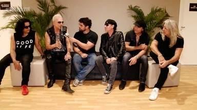 Papo exclusivo com Scorpions! - Daniel Viana entrevista astros do rock mundial.