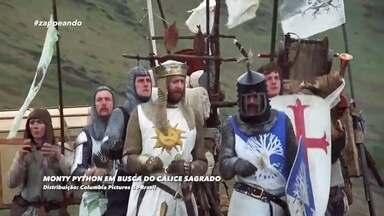 Qual é a boa: filme é dica para o fim de semana - Monty Python em busca do cálice sagrado é a sugestão de Kassio Buiati.