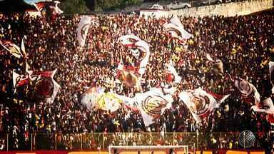 Vitória tem jogo importante contra o Flamengo neste sábado (10) no Barradão - Leão precisa vencer para tentar escapar da zona de rebaixamento. Mais de 30 mil ingressos para a partida já foram vendidos.