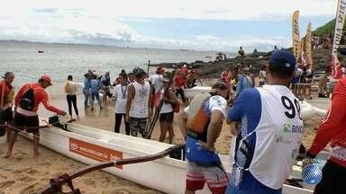 Festival reúne apaixonados por esportes aquáticos na praia do Porto da Barra - Aloha Spirit promove disputas durante todo o sábado (10).