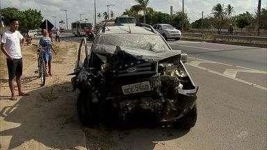 Após atropelamento de idosa, PRF fala sobre respeito à faixa de pedestre - Idosa morreu atropelada no BR-116