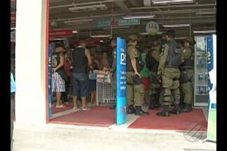Assaltantes invadem loja de departamentos em Belém neste sábado (10) - Clientes e funcionários foram mantidos reféns.