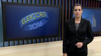 Candidatos à Prefeitura fazem campanha neste domingo - Em Ponta Grossa, todos os candidatos aproveitam o fim de semana para divulgar suas propostas.