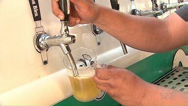 Encontro reúne microcervejarias de Ponta Grossa - Intenção é divulgar a produção local. Evento segue até domingo.