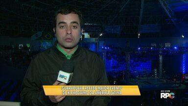 Guarapuava recebe o maior evento de kickboxing da América Latina - Lutas são no Ginásio Joaquim Prestes