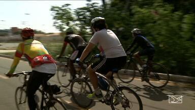 Ciclistas viajam de pedal no Maranhão - Ciclistas viajam de pedal no Maranhão