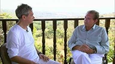 Serginho entrevista João de Deus - Confira raro encontro de Serginho com o famoso médium de Abadiana