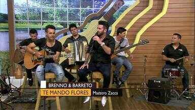 """Dupla Brenno e Barreto canta a música """"Te mando flores"""" - Dupla Brenno e Barreto canta a música """"Te mando flores"""""""