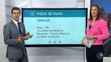 Semana ACM começa nesta quarta (14) na faculdade de medicina da UFBA, em Salvador - Urbanistas do Brasil e de outros países vão discutir estratégias e soluções para o Centro Histórico de Salvador; veja.