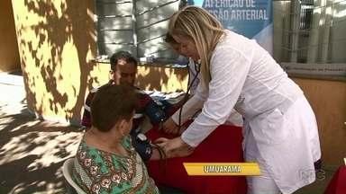 Universidade de Umuarama oferece serviços de graça para os moradores - São orientações sobre finanças e serviços na área de saúde