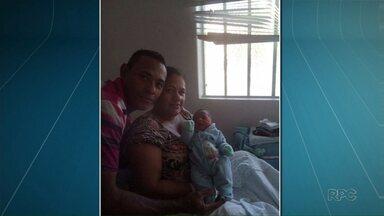 Socorristas fazem parto de bebê em rodovia - Misael nasceu com 2,6 quilos e passa bem