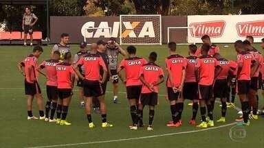 Galo está cheio de mistério para o jogo desta quinta com o Sport - Técnico Marcelo Oliveira não confirmou o time que entra em campo