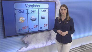 Confira a previsão do tempo para esta tarde de quinta-feira (15) - Confira a previsão do tempo para esta tarde de quinta-feira (15)