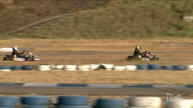 Pilotos se preparam para a sexta etapa do Campeonato Maranhense de kart - Etapa do Estadual será realizada no Kartódromo João Sallém, em São Luís