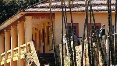 Museu do Café atrai visitantes em Botucatu - O Museu do Café, em Botucatu (SP), é um dos mais importantes do gênero. O acervo está instalado em um dos casarões da centenária Fazenda Lageado e atrai visitantes de todo o Brasil.