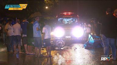 Quase 70% dos acidentes de trânsito em Maringá envolveram motocicletas - Dos 2.771 acidentes com vítimas, 1.874 envolveram motociclistas.