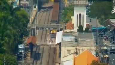 Minas Gerais registra 182 acidentes com trens em 2016; veja flagrantes - De janeiro até o momento, nove pessoas morreram no estado.