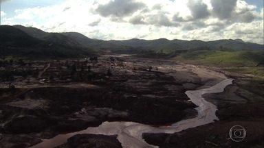 Governo de MG autoriza Samarco a construir dique S4 na área de Bento Rodrigues - O distrito foi devastado pelo rompimento da barragem de Fundão. Segundo a mineradora, a obra é fundamental para a segurança da região.