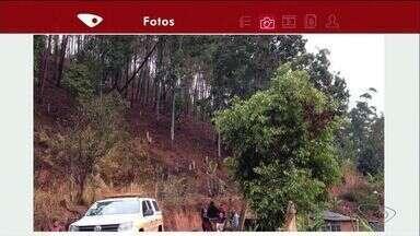 Granizo danifica plantações e derruba árvores em Ibatiba no ES - Equipes da defesa Civil estão em alerta desde a madrugada.No bairro Horto Florestal, uma árvore corre risco de cair sobre três casas.