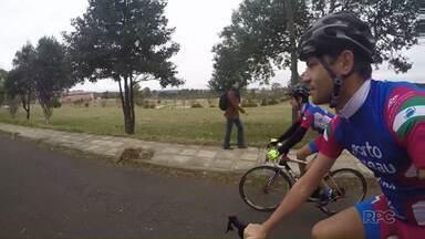 Ciclista de Ponta Grossa é destaque nos Jogos Escolares da Juventude - Ele representa Ponta Grossa e o Paraná na Paraíba.
