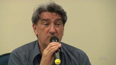 ParanáTV acompanha a agenda do candidato a prefeito Valter Orsi, do PSDB - Ele participou de um debate e deu entrevista à RPC.