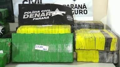 Polícia apreende 1 tonelada de maconha em ilha de Querência Norte - De acordo com as investigações, a droga veio do Paraguai, entrou no Brasil pelo Mato Grosso do Sul e chegou ao Estado pelo Rio Paraná.