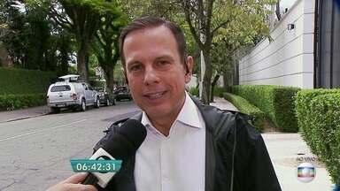 Veja a entrevista do BDSP com o prefeito eleito João Doria, do PSDB - O candidato João Doria, do PSDB, foi eleito em primeiro turno e assumirá em 1º de janeiro de 2017 a Prefeitura da cidade de São Paulo.