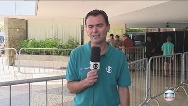 Tino Marcos acompanha a preparação da seleção brasileira em Natal - Gabriel Jesus foi o último a chegar para treinar para o jogo contra a Bolívia, na quinta-feira.