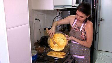 Aprenda a fazer uma torna salgada com carne e cenoura - Aprenda a fazer uma torna salgada com carne e cenoura.