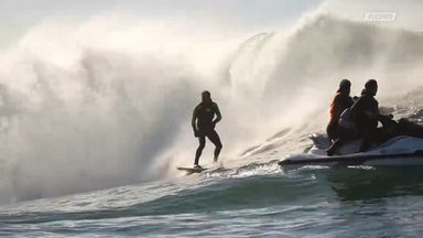 Surfe De Tow-In Em Oregon