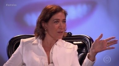 Lilia Cabral se emociona ao lembrar carreira em bate papo com Angélica - Confira o vídeo!