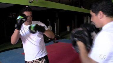 Veja a primeira reportagem sobre a Série Lutas - O repórter Douglas França vai aprender um pouco de Muay Thai.