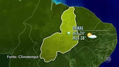 Confira como fica o tempo no interior do Piauí neste domingo (9) - Confira como fica o tempo no interior do Piauí neste domingo (9)