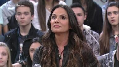 Luiza Brunet comenta agressão do ex-marido - Yasmin Brunet e a mãe contam que apoiam projeto contra bullying