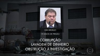 Sérgio Moro condena o ex-senador Gim Argello a 19 anos de prisão - Gim Argello, que era do PTB do Distrito Federal, foi condenado por corrupção, lavagem de dinheiro e obstrução às investigações.