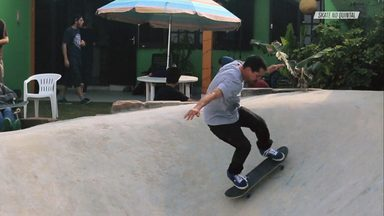 Skate Dentro Do Quarto