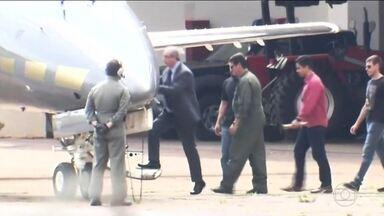 Deputado cassado Eduardo Cunha é preso por tempo indeterminado - Ex-presidente da Câmara estava em Brasília e foi levado a Curitiba. Cunha parecia indignado, mas não resistiu; já estava com a mala pronta.